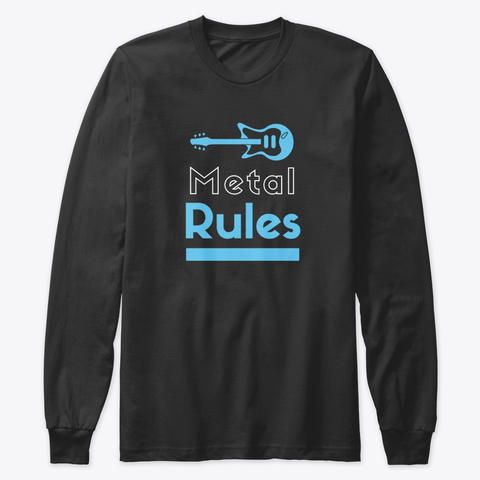 Heavy Metal Music Rules Forever Creative Guitar Clipart 2020 6
