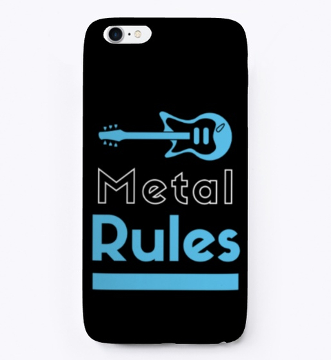 Heavy Metal Music Rules Forever Creative Guitar Clipart 2020 8
