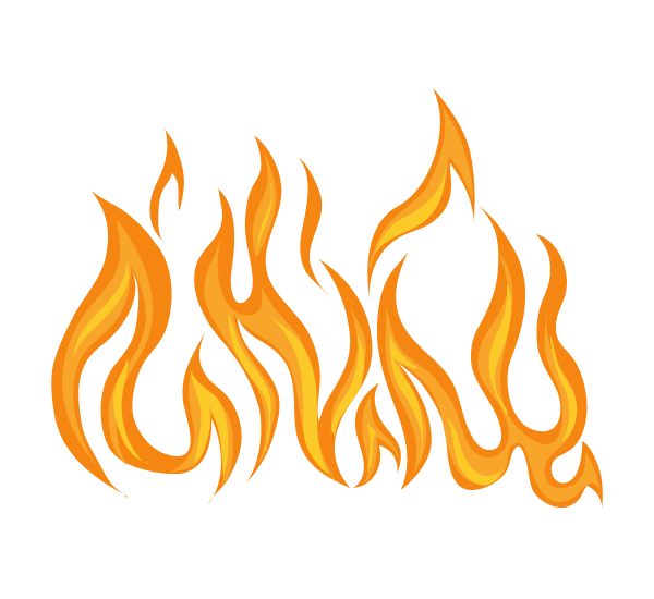 10 Creative Fire Clipart Transparent PNG Download