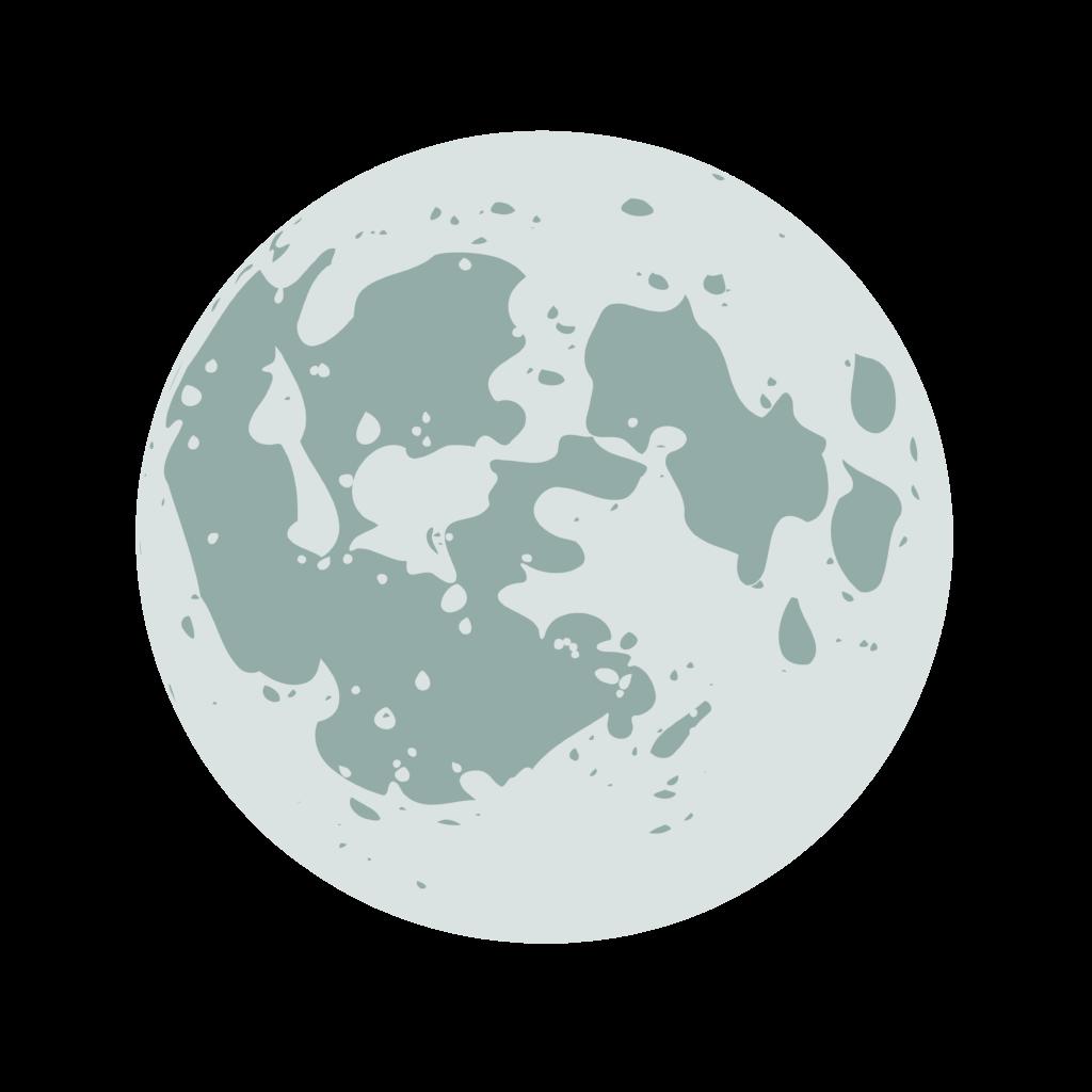 10 Transparent Moon Clipart PNG Images 1