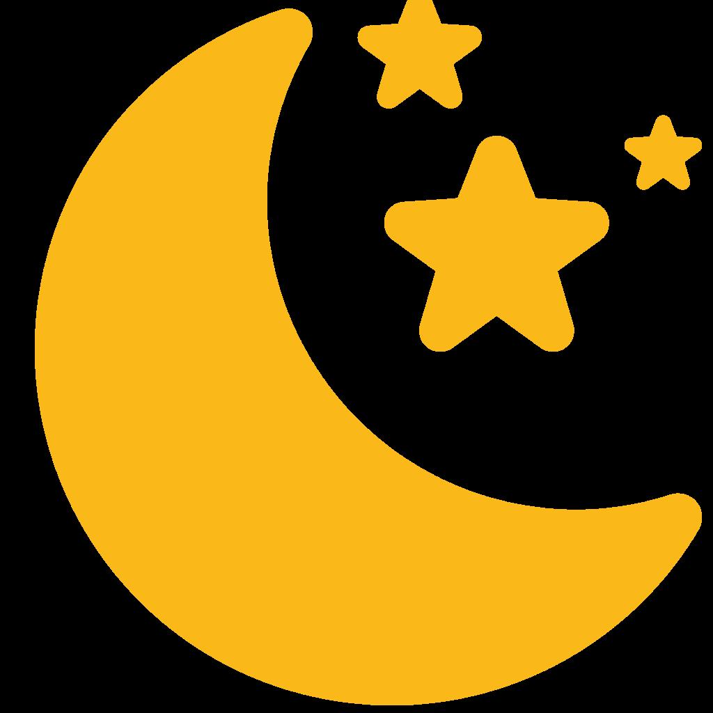 10 Transparent Moon Clipart PNG Images 3