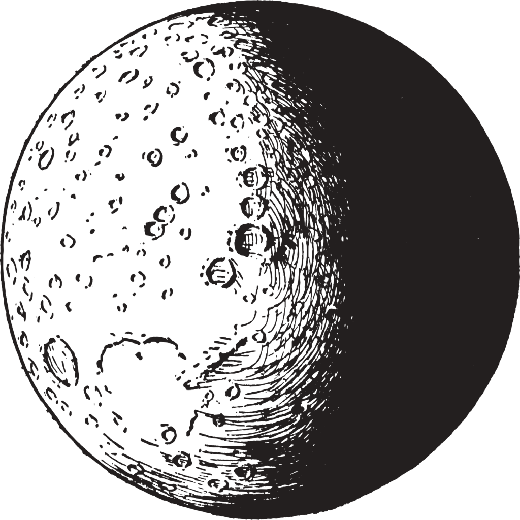 10 Transparent Moon Clipart PNG Images 4