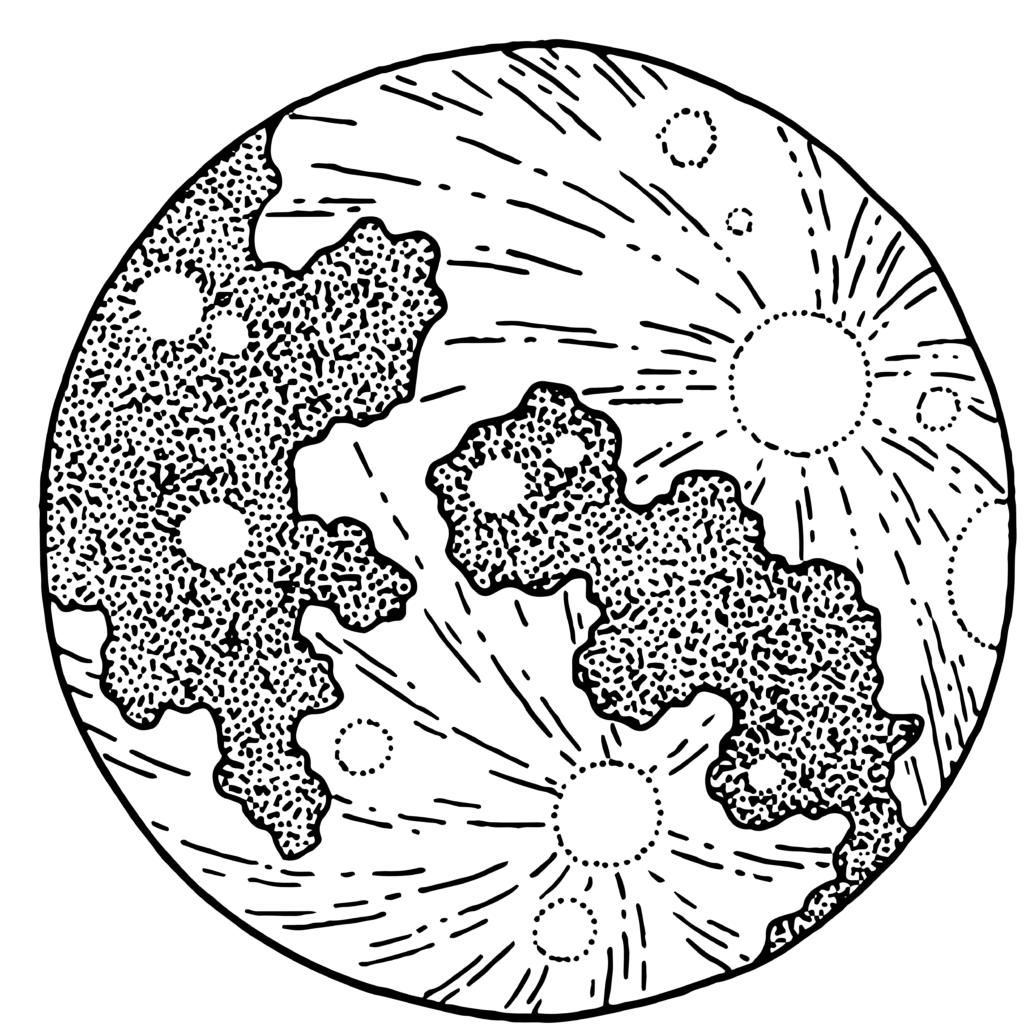 10 Transparent Moon Clipart PNG Images 6