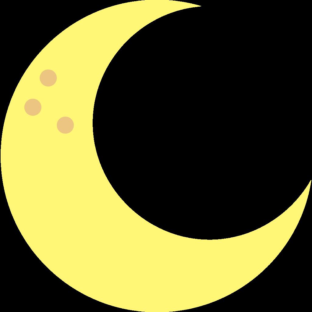 10 Transparent Moon Clipart PNG Images 5