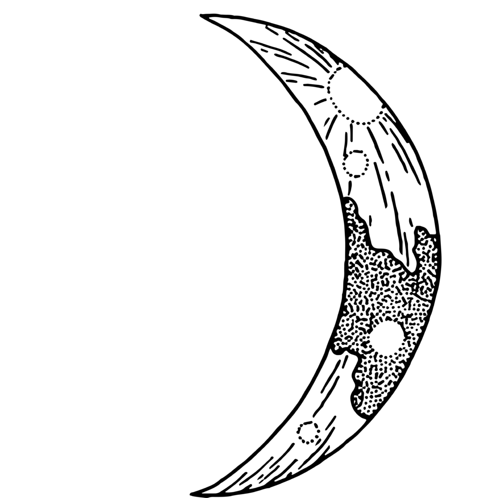 10 Transparent Moon Clipart PNG Images 9