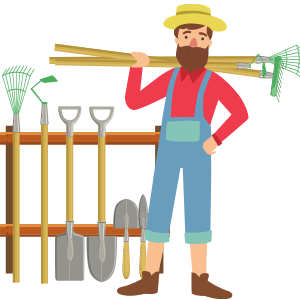 10 Farmer Images Clipart Download
