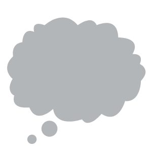 30 Thinking Cloud Clipart Images 13