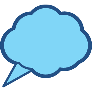 30 Thinking Cloud Clipart Images 11