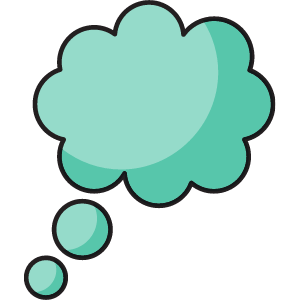 30 Thinking Cloud Clipart Images 4