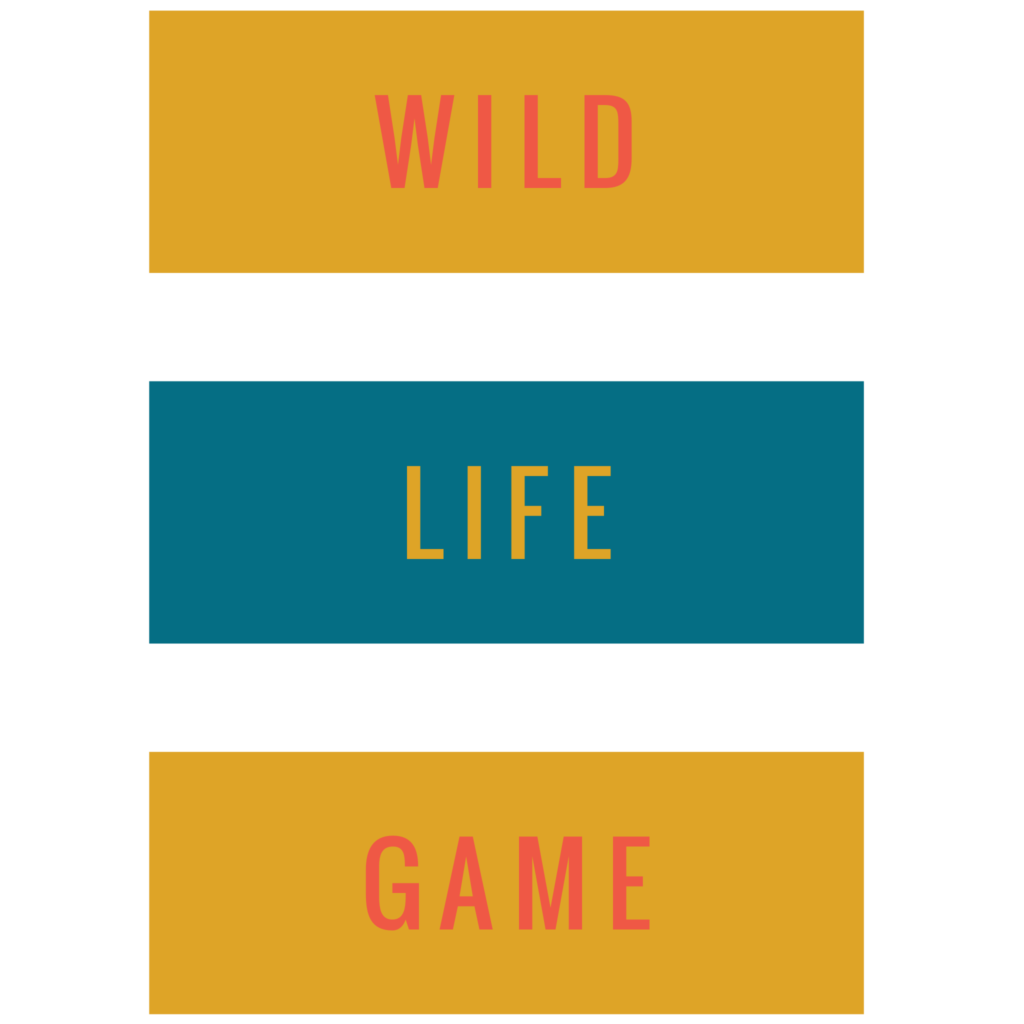 Wild Life Game Typography Design Free Download 2