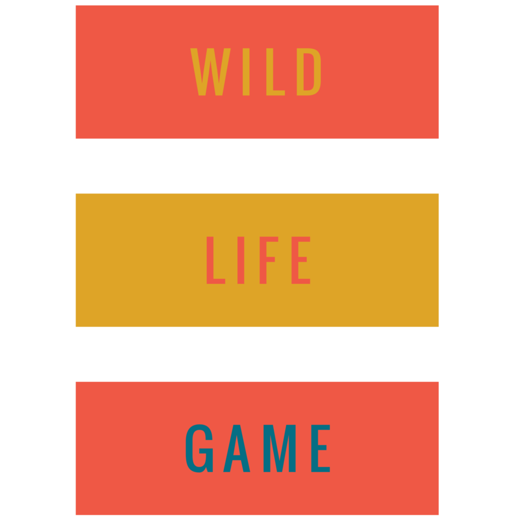 Wild Life Game Typography Design Free Download 1