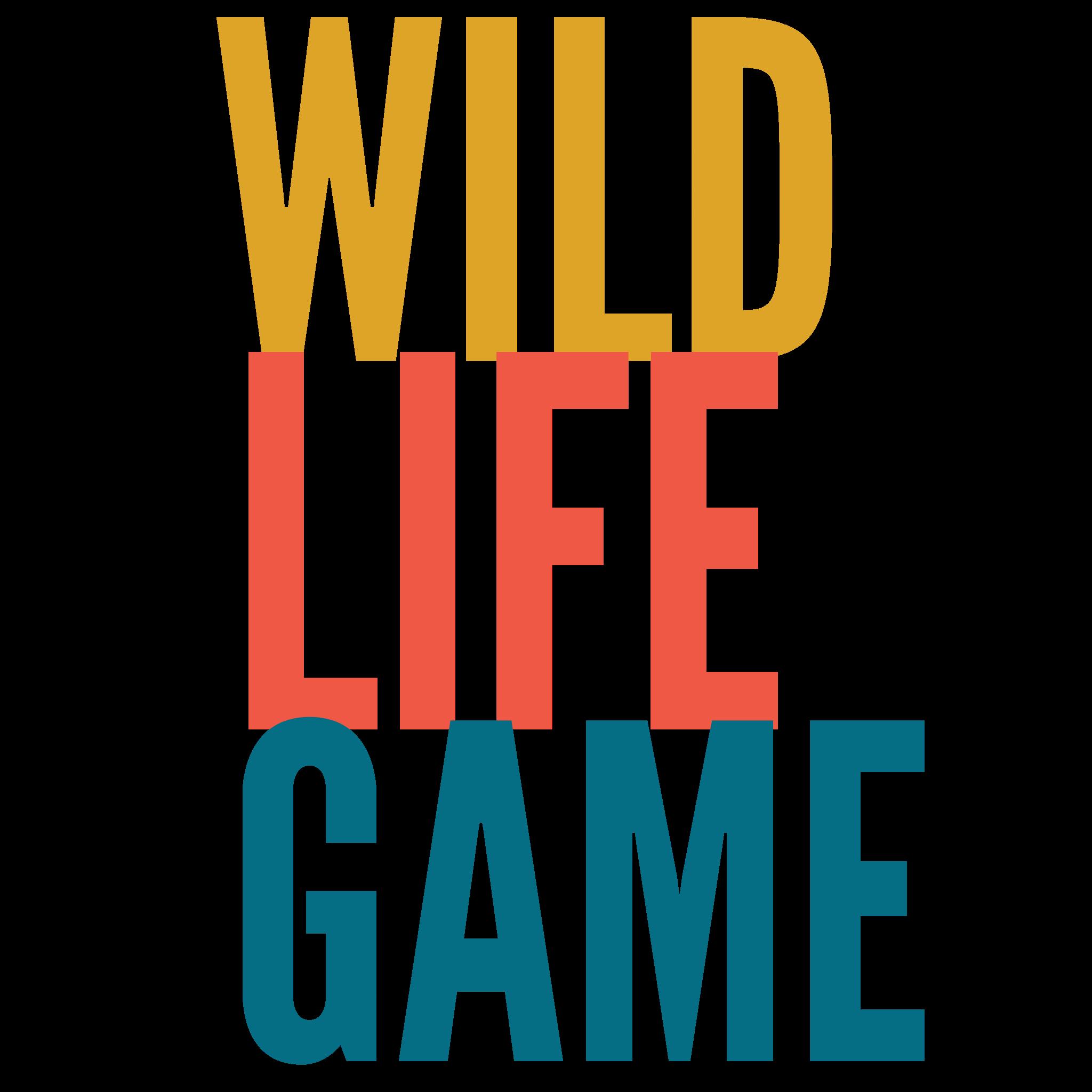 Wild Life Game Typography Design Free Download