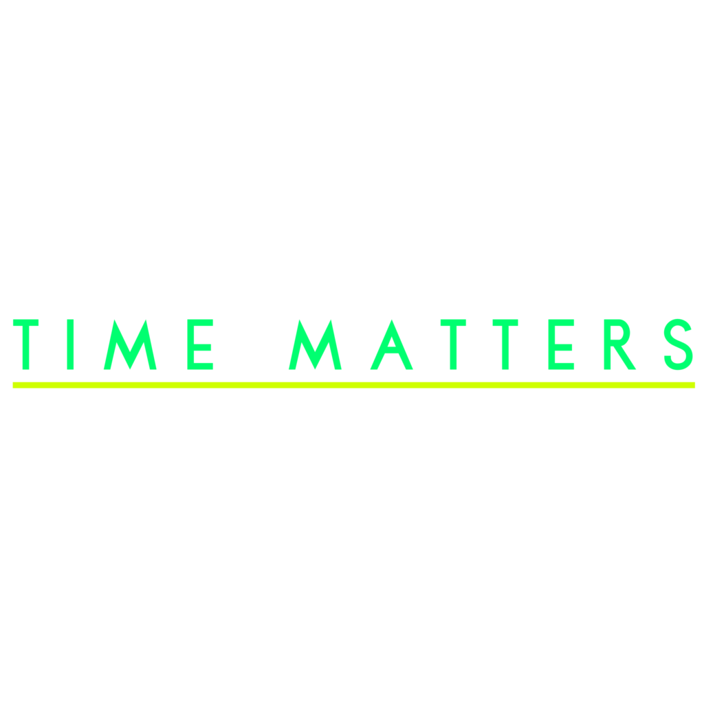 Time Matters - Typography Design 8