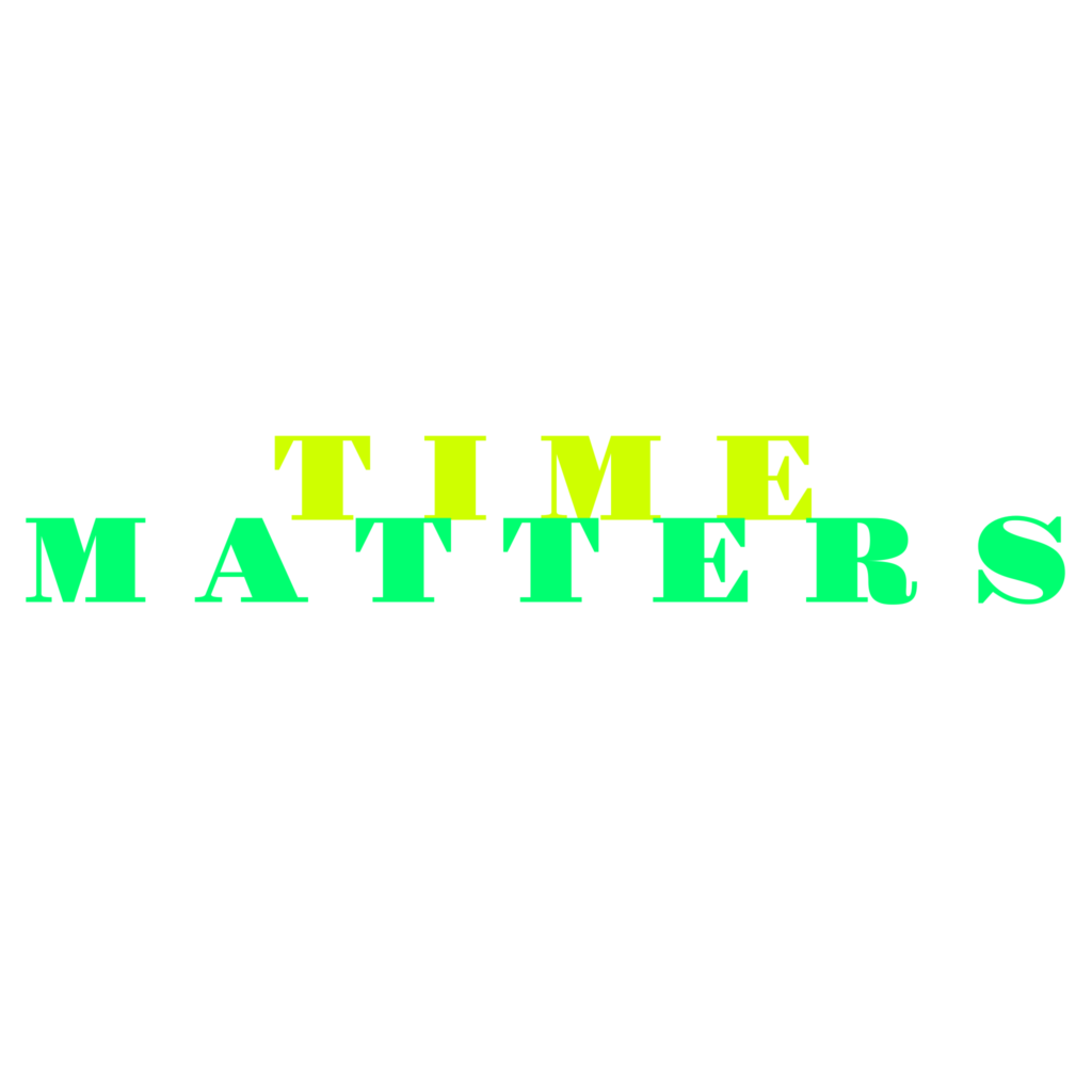 Time Matters - Typography Design 7