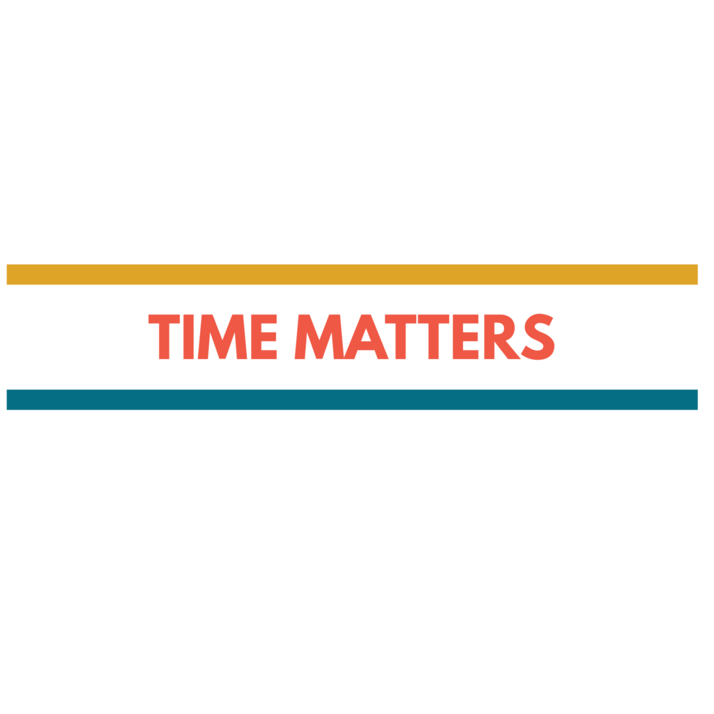 Time Matters - Typography Design 3