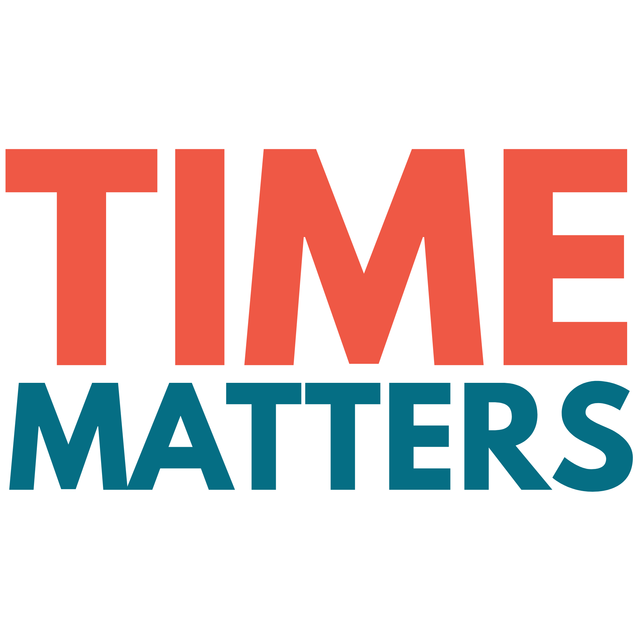 Time Matters – Typography Design