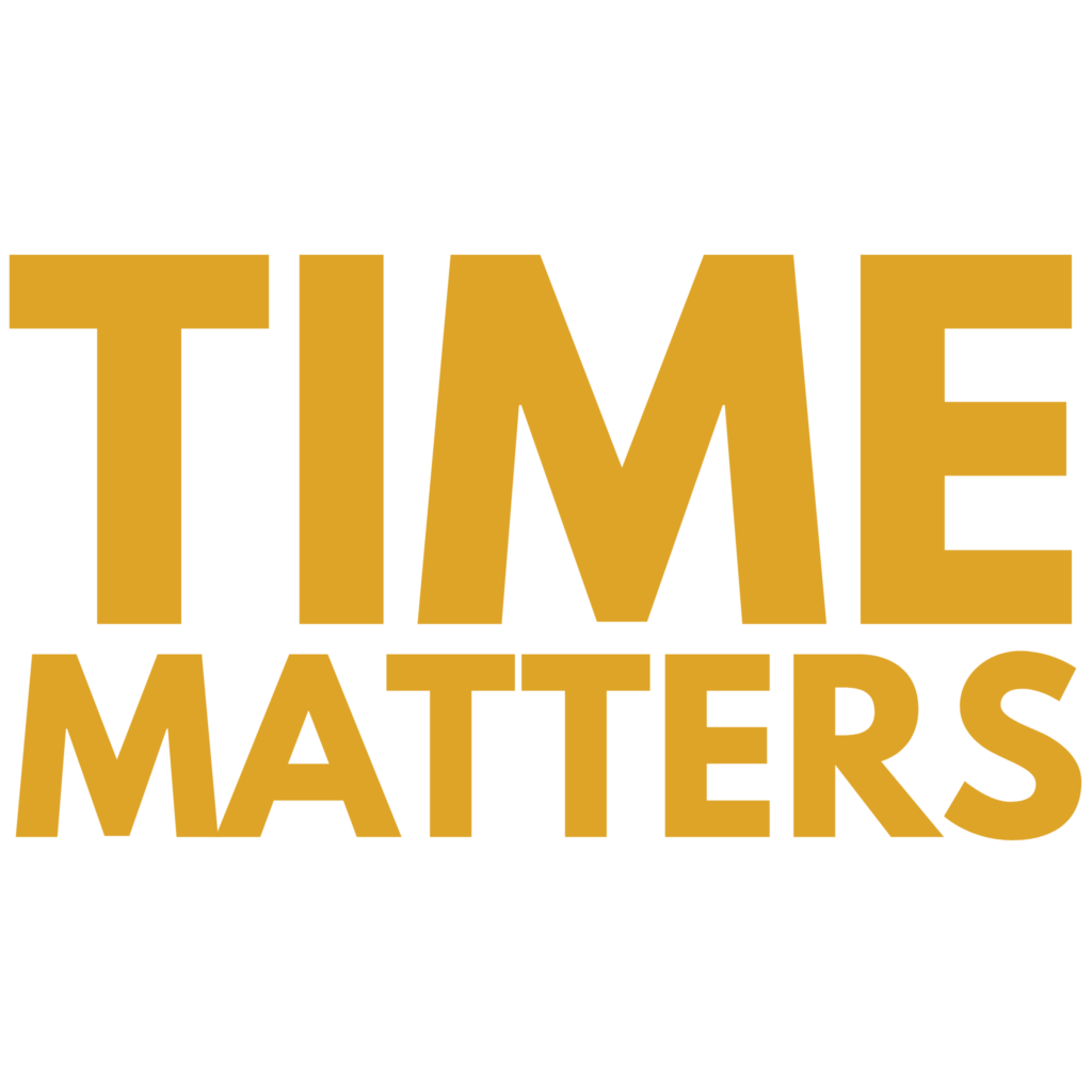 Time Matters - Typography Design 6